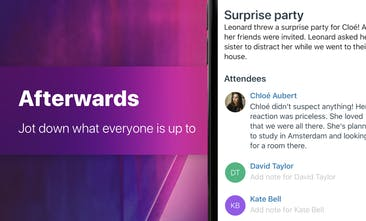 Hippo - Keep track of friends, family and colleagues you