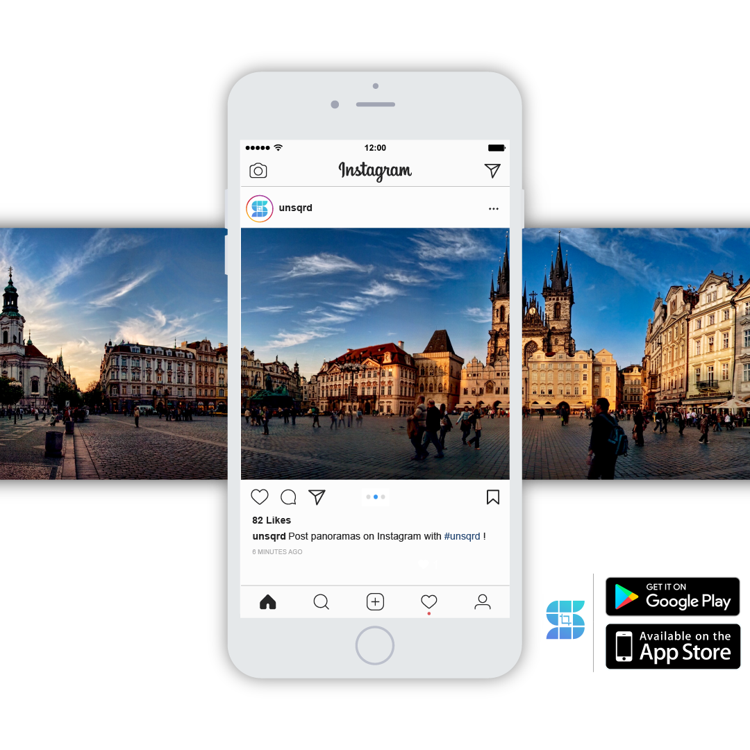 Unsquared - The coolest way to post your panoramas on Instagram
