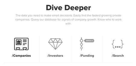 Mattermark API - Spend more time winning customers and less