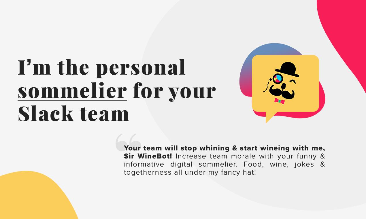 Sir WineBot - Personal digital sommelier for your Slack team