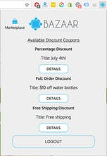 The Bazaar Network - A benefits network for E-commerce